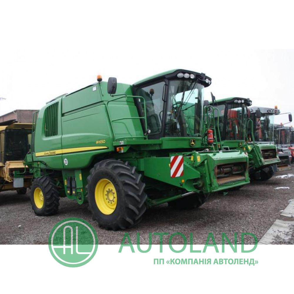 Комбайн зернозбиральний John Deere W650 (2009)