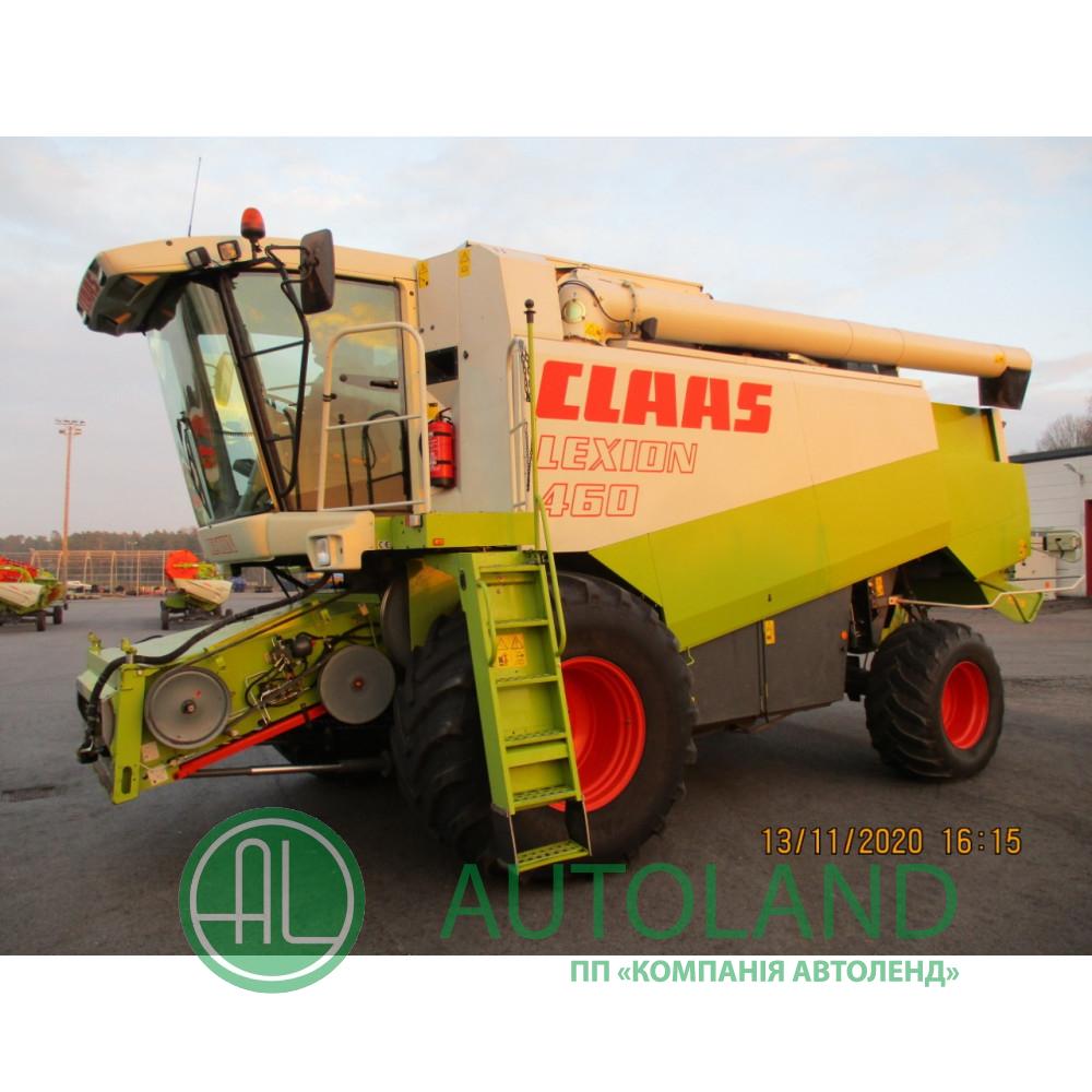 Комбайн зернозбиральний CLAAS LEXION 460 (2000р)