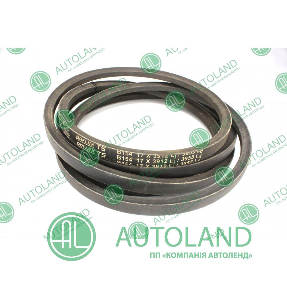 Привідний клиновий ремінь B17*3912mm, B154 Roulunds ROFLEX