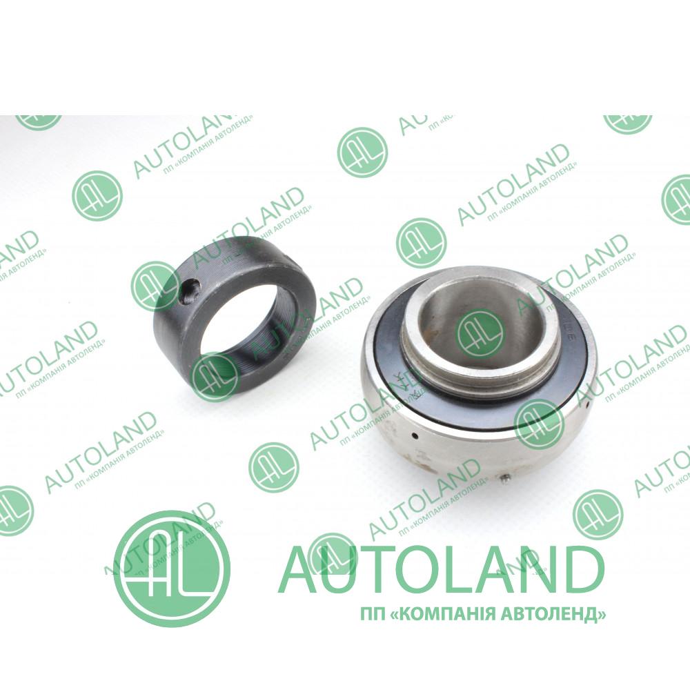 Підшипник кульковий радіальний однорядний (закріплювальний) - 206 SA