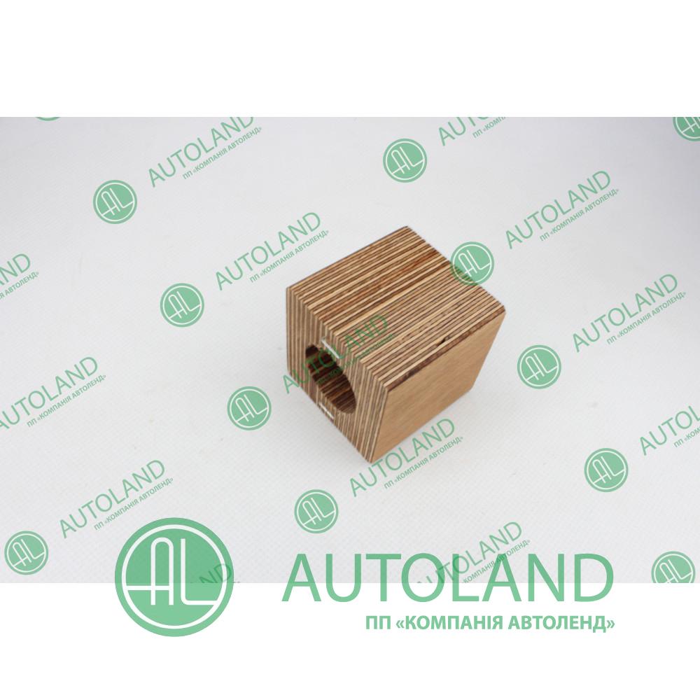Напівпідшипник 30х60х63мм соломотряса (дерев'яний) - Claas 661667.0, 0006616670